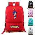 Рюкзак для ноутбука Super Sonic Shadow  для женщин и мужчин  Холщовый Рюкзак  школьные сумки для подростков  девочек и мальчиков  вместительные дорож...