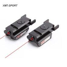 Тип лазерный прицел с красным лучом указатель прицел 20 мм/11 мм рельс для пистолет ружье винтовка лазерный прицел для охоты 1 шт