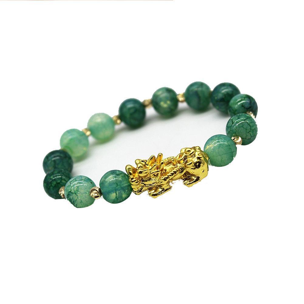 Браслет Pixiu китайский удачный Шарм фэн шуй Пи Яо богатство удача браслеты ювелирные изделия счастливые браслеты Прямая поставка