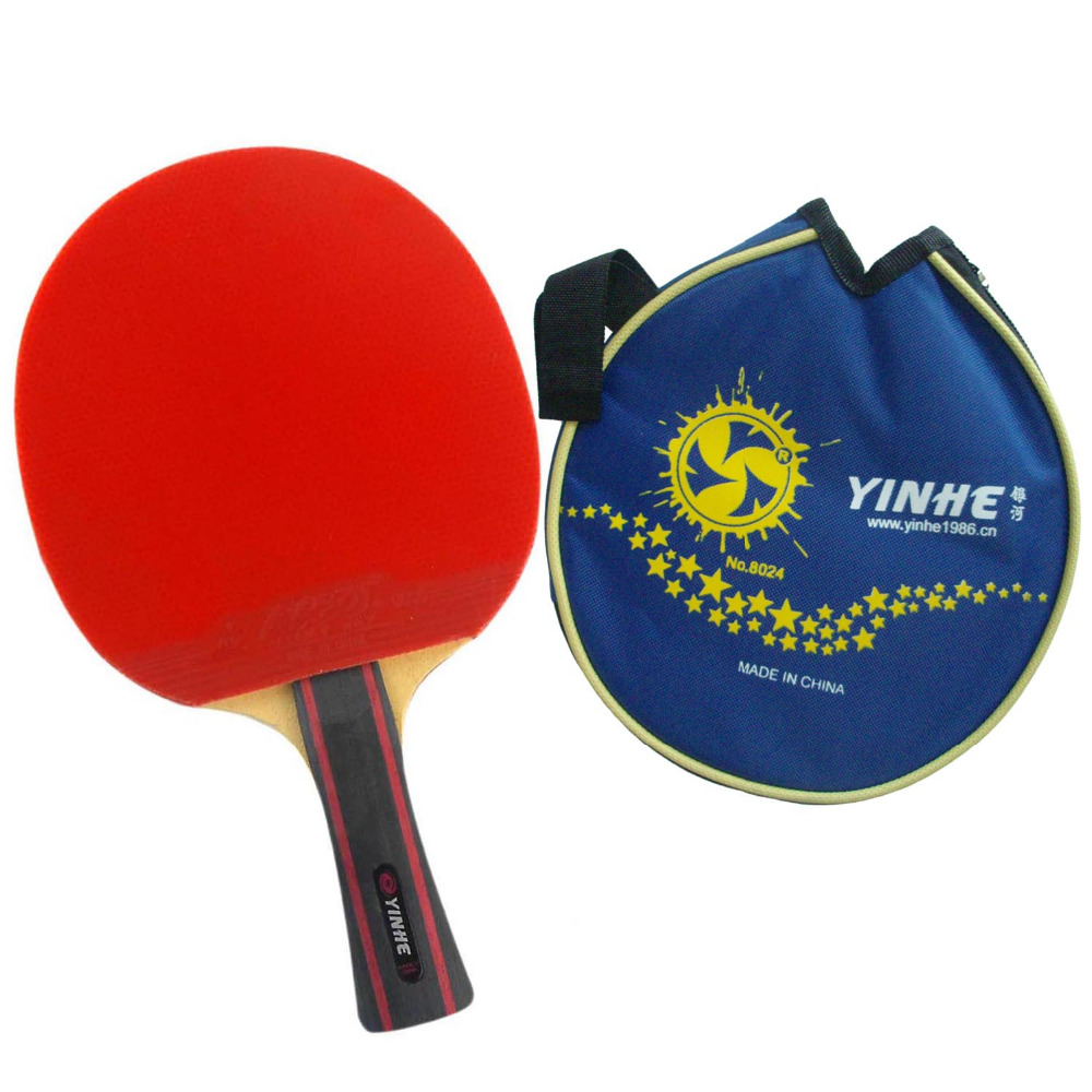 Galaxy Milky Way Yinhe 06B 06 B 06-B Pips-In Table Tennis Racket Long Shakehand FL with Case for Ping Pong yinhe milky way galaxy n9s table tennis pingpong blade long shakehand fl