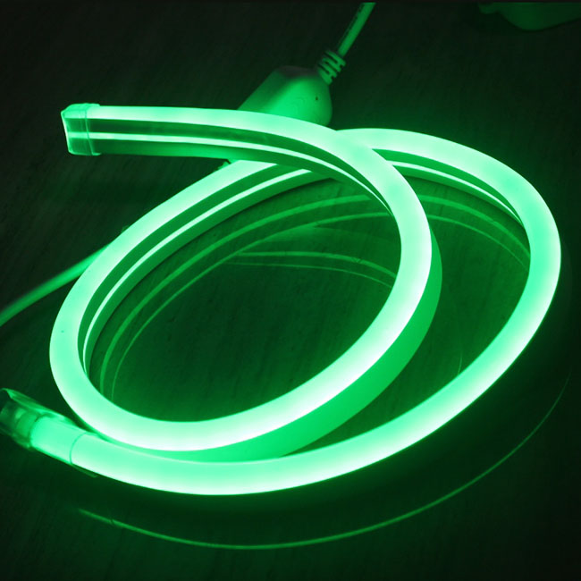 164feet (50meter) AC 110V 11*18mm Flexible LED Neon Tube Waterproof Outdoor Neon Lighting IP67 Waterproof Neon Sign ...