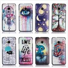Capa HTC um plástico, para M7 Case híbrido padrão do arco-íris colorida caso Snap On para M7 801E 801 S caso, pt019