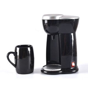DMWD 140ML Mini American Coffee Machine Automatic Drip Coffee Maker Single Cup Coffee Maker for Home And Office 230V