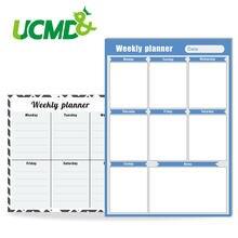 Магнитный календарь ежедневный Еженедельный планировщик стираемая