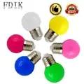 200 шт./лот, цветной глобус, ламповый светильник E27 1 Вт 3 Вт, Красочный светодиодный светильник, праздничные лампы, домашние вечерние декоратив...