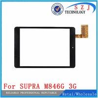 Novo 7.85 ''polegadas Para SUPRA M846G 3G Tablet tela de Toque Do Painel De Vidro Sensor Substituição Frete Grátis