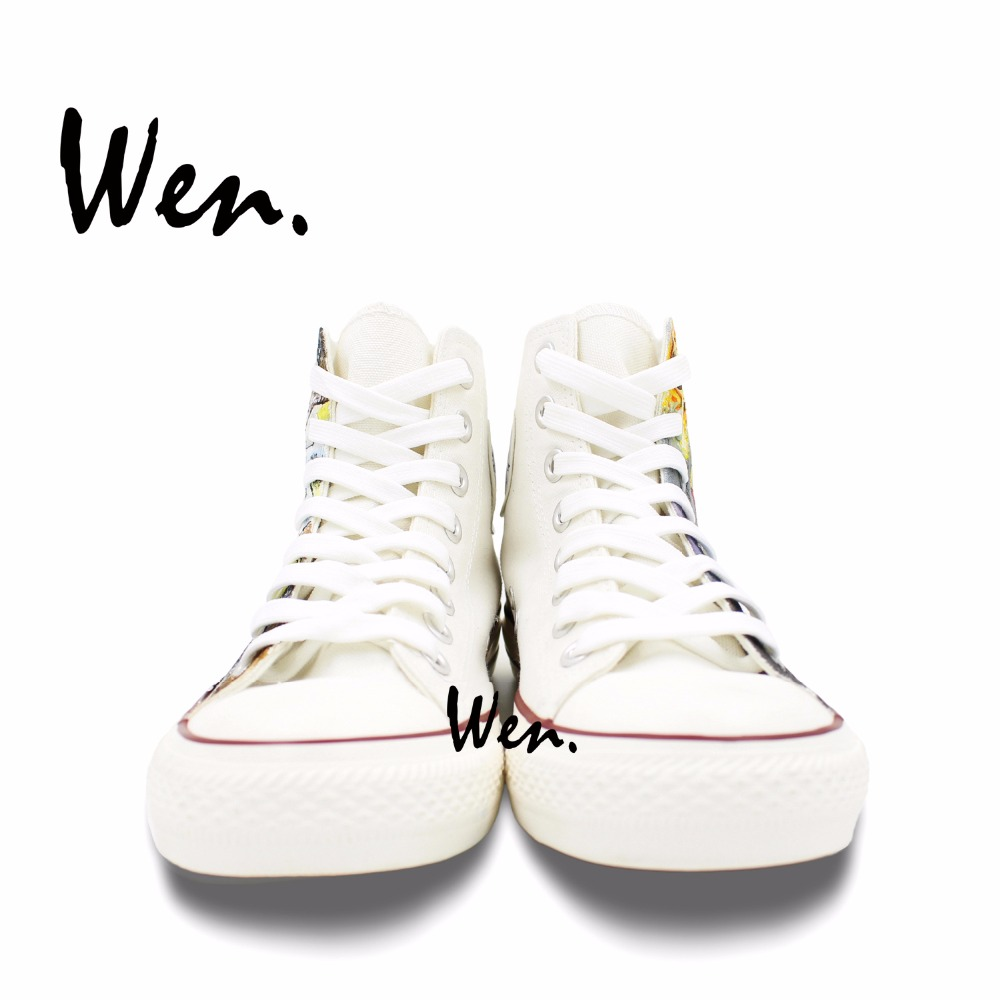 Wen Dizajn Custom Ručno oslikane cipele One Punch Man Anime Cipele - Tenisice - Foto 5