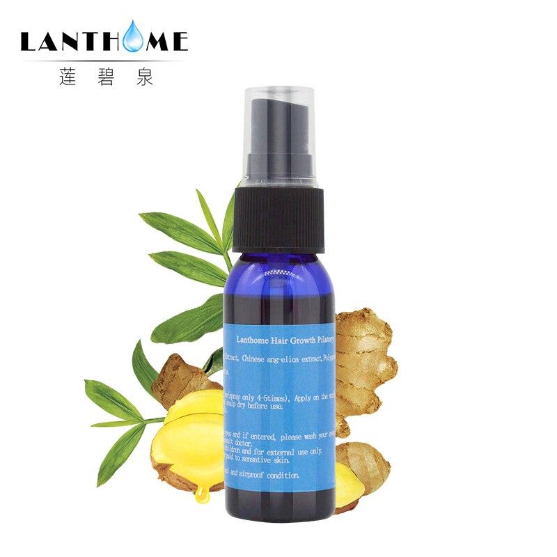 Unisex Anti Hair Loss Treatment Serum Ginger Extract Hair Regrowth Organic Beard Oil Growing Facial Hair For Men Women Hair Care