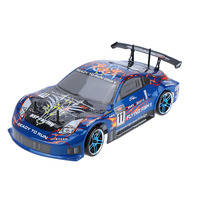 New Original HSP 94123 2.4Ghz Eletronic Powered Brushless ESC 1/10 Flying Fish On road 4WD RC Drift Car with 12307 Body RTR