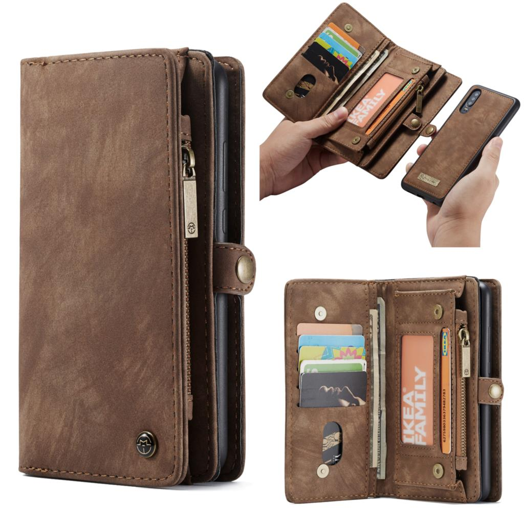 Multi-functional Zipper Wallet Case For Huawei P30 Case ELE-AL00 ELE-L09 ELE-L29 Detachable Leather Wallet Cover Phone Bags Case