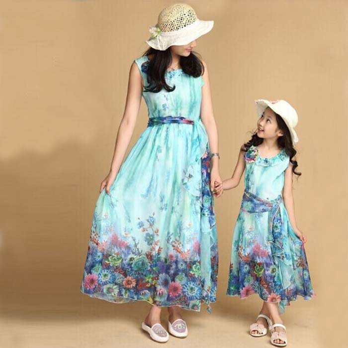Aliexpress.com : Buy 5 15 Age Kids Teenage Girl Chiffon Sleeveless ...
