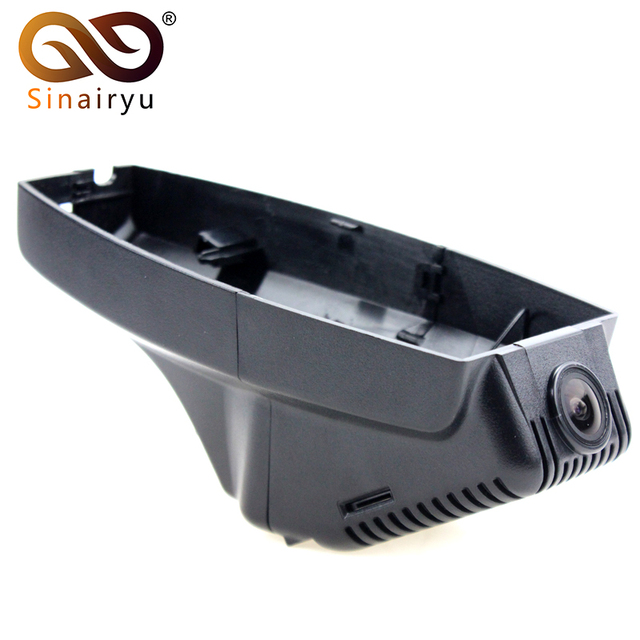 Sinairyu Video Recorder Dash Cam Wifi Car DVR Automobile Data Recorder For BMW 3 Series X1 X3 X6 530 325 2007-2012 mini Camera