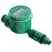 Mayitr Kert öntözés időzítő Digitális LCD programozható óra öntözés időzítő Automatikus sprinkler vezérlő rendszer kerti eszköz