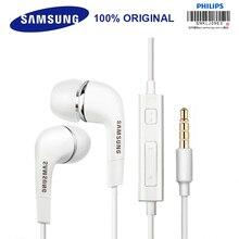 SAMSUNG оригинальные наушники EHS64 Проводные 3,5 мм наушники-вкладыши с микрофоном для Samsung Galaxy S8 S8Edge поддержка официальная сертификация