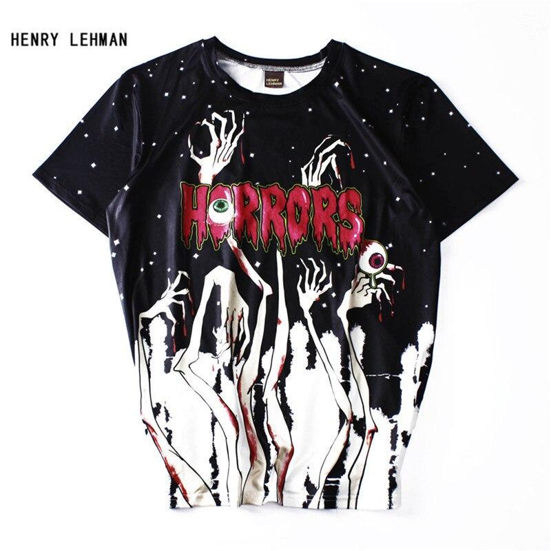Mais novo T-shirt Crianças T-shirt Do Mal Diabo Horror Assustador Horror História Sobrenatural Pentagrama Adoração Ao Diabo O Satanismo Camisa 3d T