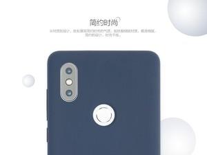 Image 3 - Original Xiaomi Mi MIX 2S Case Cover Genuine Silicone + soft fiber Durable comfortable shockproof shell for Mi Mix 2X MIX2S 5.99