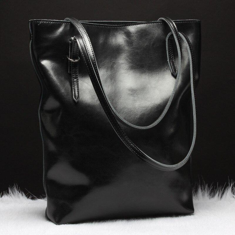 Для женщин новые модные Европа и США кожаные сумки промасленной воск кожа вертикальные модели квадратный плечо диагональ pac