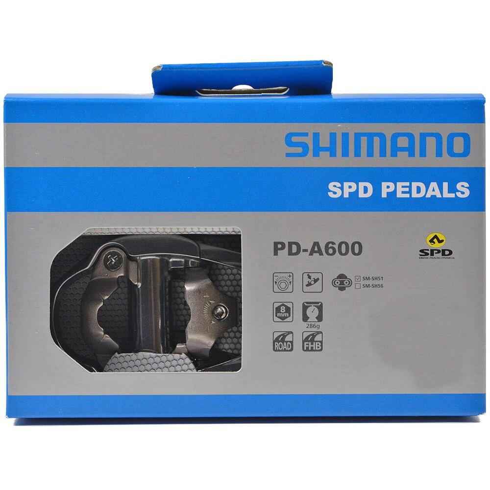Pédales et crampons de vélo de route Shimano PD-A600 SPD Clipless pédales de vélo de route