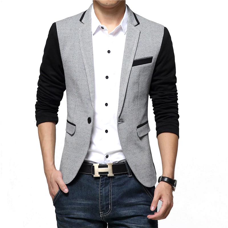 Slim fit jacket mens india