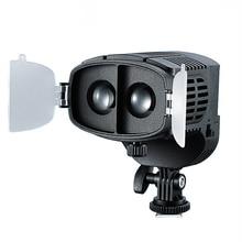 лучшая цена CN-20FC On-Camera LED Light Video Spotlight 3200-5600K Adjustable Brightness Focus Light For Canon Nikon DSLR Camera Camcorder