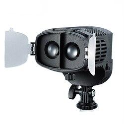 CN-20FC Camera LED Light Video Spotlight 3200-5600K Adjustable Brightness Light For Canon Nikon DSLR Camera Camcorder