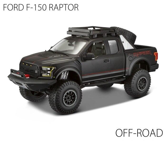 1/24 Die cast Ford Raptor F150 OFF ROAD & Se Trucks Pick ...