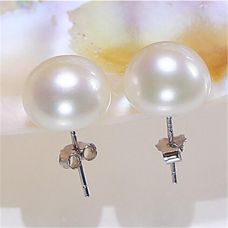 YIKALAISI 925 bizhuteri argjendi i pastër Bizhuteri Pearl, bizhuteri - Bizhuteri të bukura - Foto 4