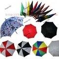 Comercio al por mayor 10 unids cada lote magia paraguas Parasol Magia de Escena 43 cm longitud muchos colores truco de magia