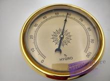 цена на 10pcs/lot Quality Importers Analog Hygrometer, 70mm Round Glass Analog Hygrometer for Humidors Plasitic
