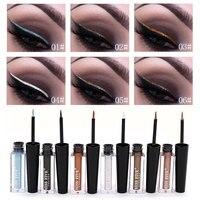 12pcs/set Fashion Women Eye Makeup Shimmer Liquid Eyeshadow Waterproof Glitter Liquido Eye Liner Maquillaje China De Mujer