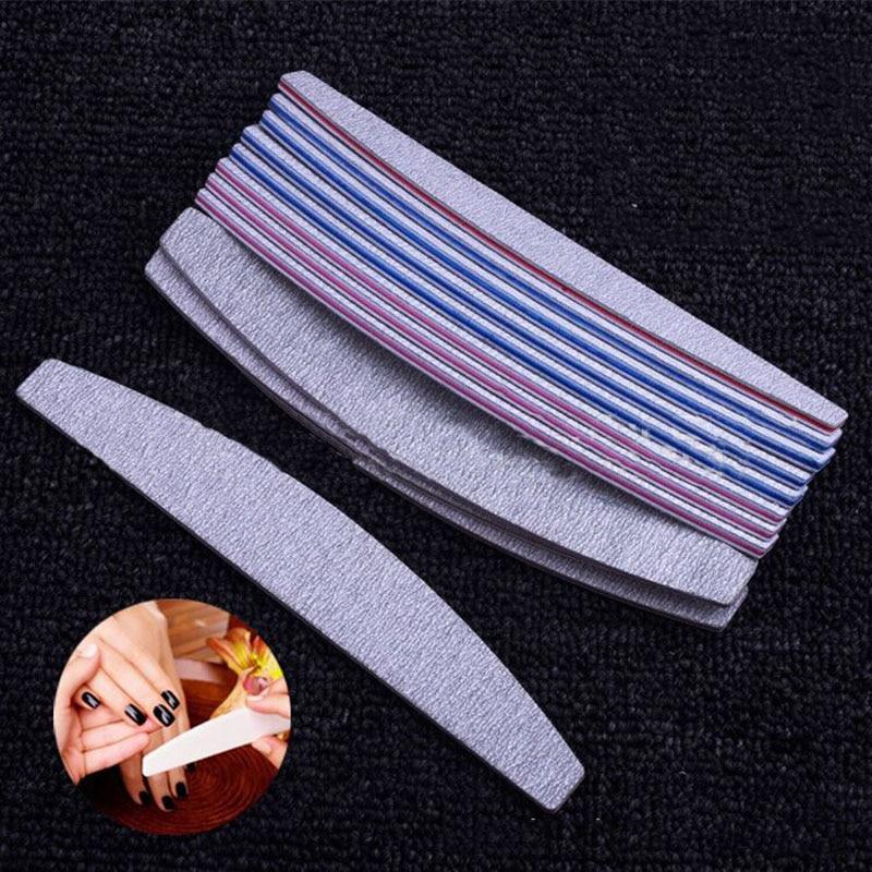 4pcs/set Washable Nail File Double-side Sand Paper Buffing Sanding Paper File Buffer Manicure Pedicure Art Tool
