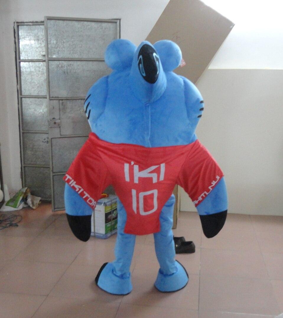 Модные дышащие женские хлопковые голубые джинсы с изображением акулы костюм для взрослых мультфильм костюм акулы талисмана с плюшевой под... - 3