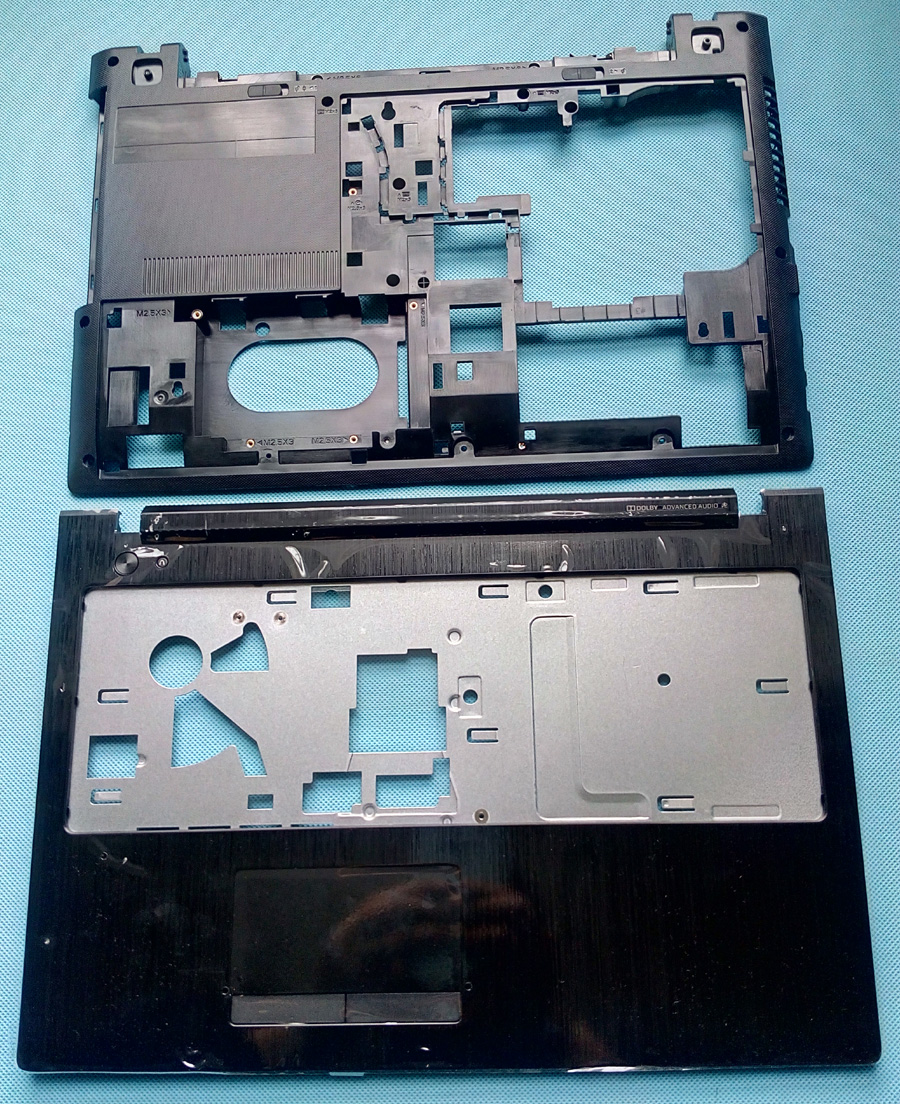 New/Orig For Lenovo G500S G505S TOP COVER Palmrest Upper Case+ Bottom Base Cover Case AP0YB000H00 AP0YB000I00 neworig keyboard bezel palmrest cover lenovo thinkpad t540p w54 touchpad without fingerprint 04x5544