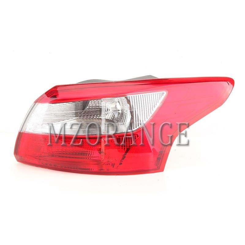MZORANGE Outer Halogen Tail Light Lamp For Hyundai Sonata 2015 2016 2017 Rear Stop Brake Indicator Warning Light