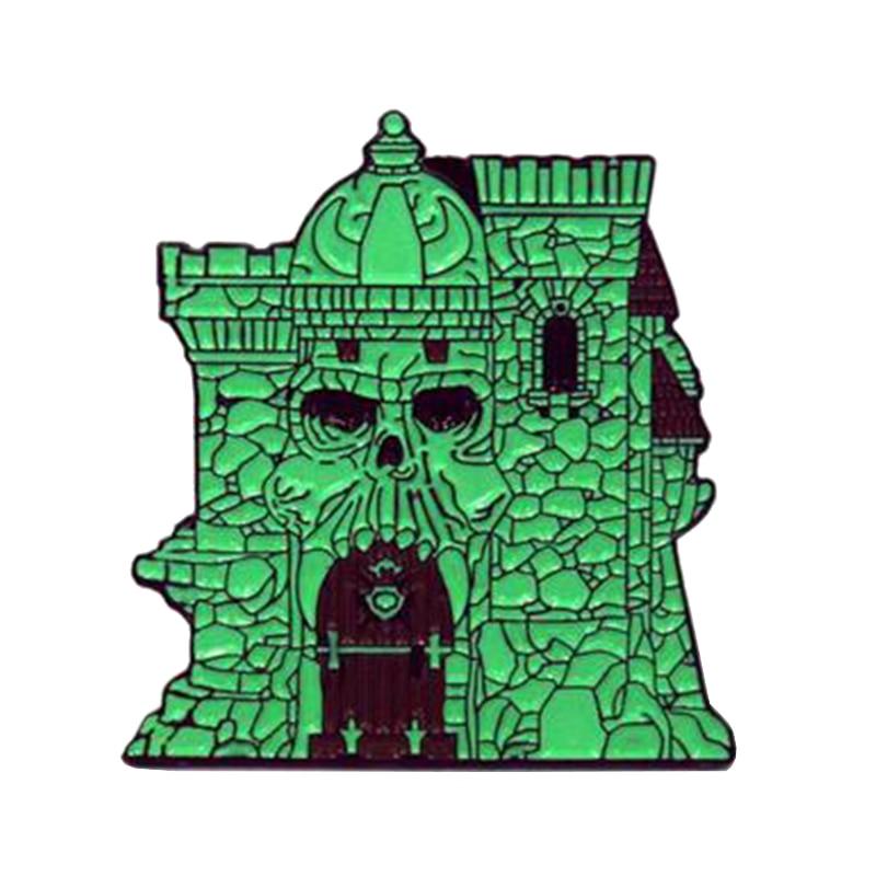 Castle grayskull He-man Masters Universe Comic Poster de porte-clés chaîne porte-clés