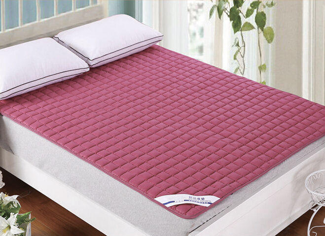 ФОТО 200*90CM Home Cotton Mattress Non-Slip Hotel Mattress Washable Bed Protection Mat