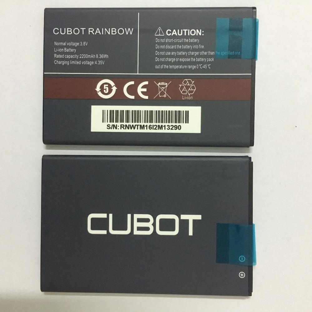 Neue CUBOT REGENBOGEN Batterie 2200 mAh Ersatz unterstützungsbatterie Für CUBOT REGENBOGEN Handy Auf Lager