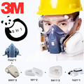 8 в 1 3 м 7502 6001 половина противогаз органический пар Силиконовый респиратор Защитная краска спрей маска угольный фильтр Рабочая Пылезащитная...