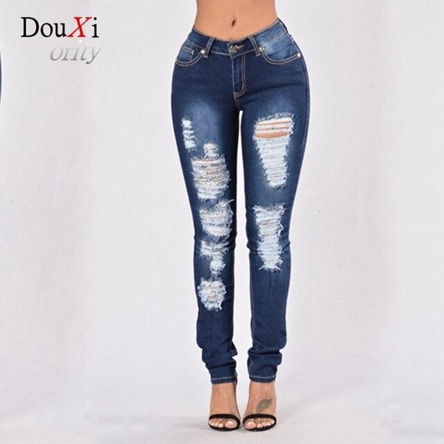 Pantalon Avec Tro Aliexpress Femme Broderie R Femme Jeans mode sthCxQdr