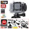 Gitup Git2P WiFi 2K 1080P HD Helmet Dash HDMI USB Action Sports Camera 44Pcs Accessories For