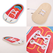 Wooden Shoe Educational Toy