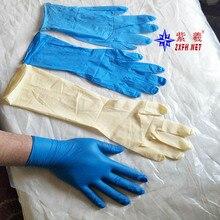NBR латексные прочные одноразовые перчатки 10 или 50 шт мешок для еды Дома Чистящие противоскользящие Гольфы от Шанхайской фабрики