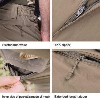 FREE SOLDIER outdoor sport tactical military pant lightweight breathable men\'s cargo trousers for camping hiking quick-drying
