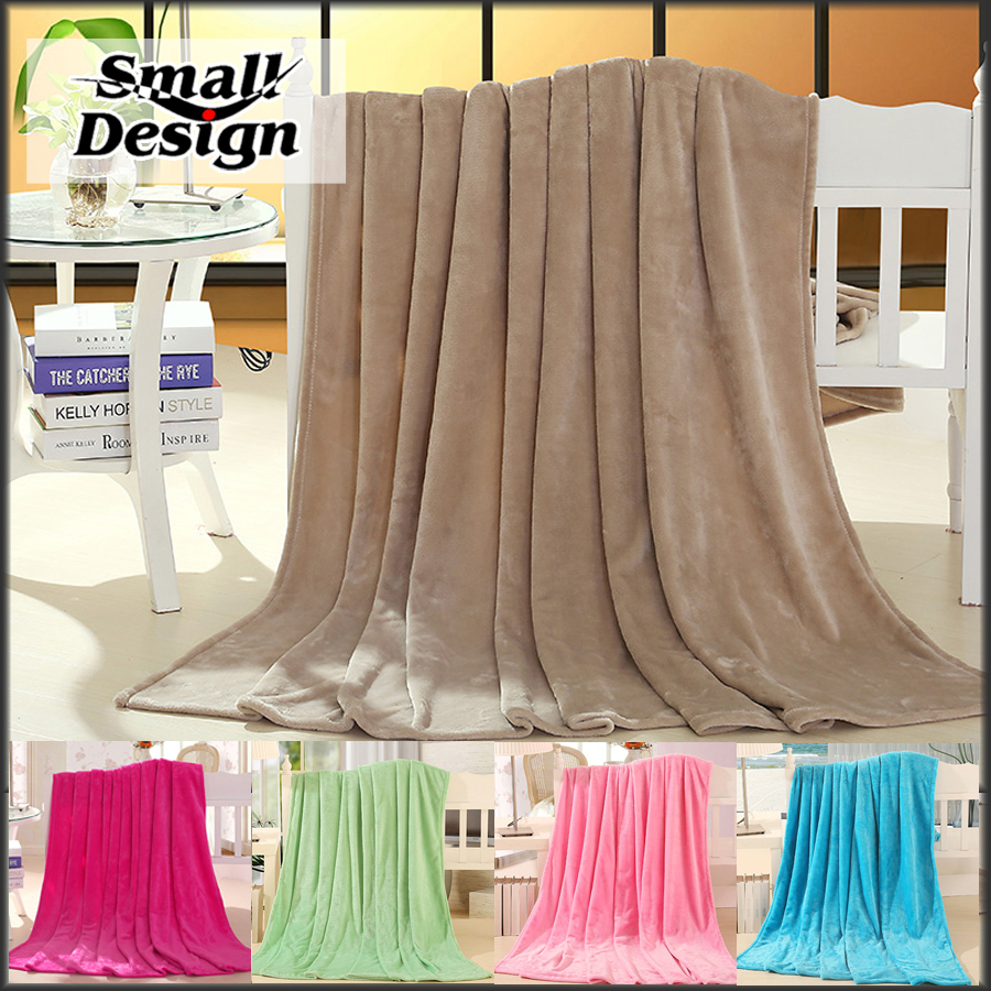 5 Colors Blankets For Beds Pink Quilt Cheap Flannel Soft Bedding ... : quilt throws cheap - Adamdwight.com