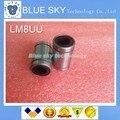 O Envio gratuito de 10 pçs/lote LM8UU 8mm 8x15x24mm Linear Ball Bearing de Bush Bucha 8mm x 15mm x 24mm
