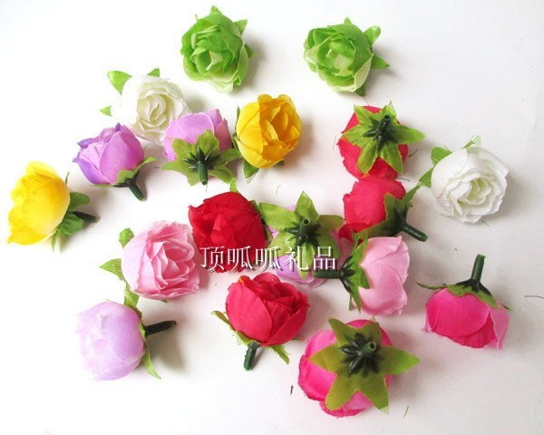 Kunstlichen Land Tee Rose Hochzeit Blumen Streuen Diy Silk Blumen