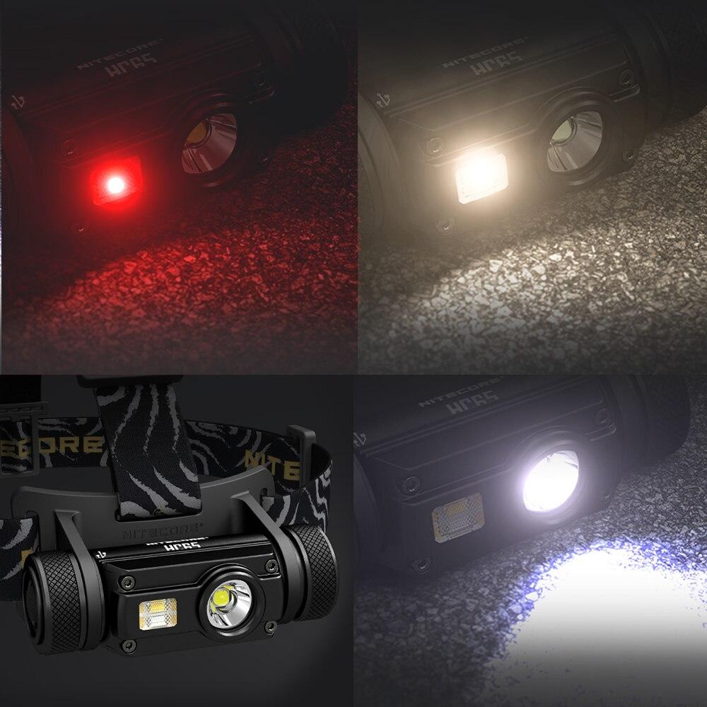 Nitecore HC65 18650 rechargeable LED Phare CREE U2 1000LM Triple Sortie Ourdoor Phare lampe de Poche Étanche Livraison Gratuite - 3