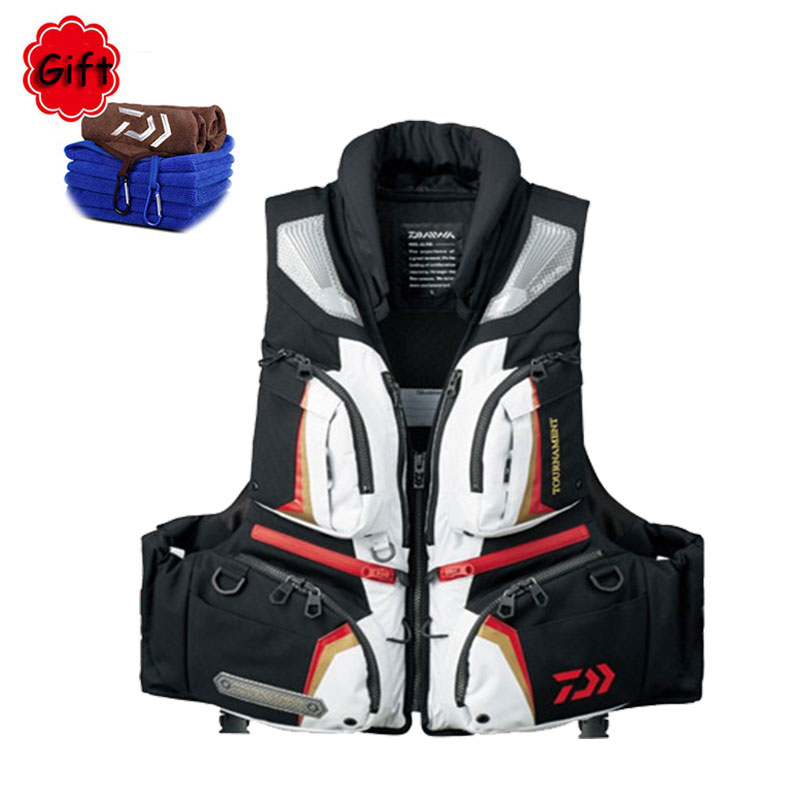 Outdoor Sports Fishing Vest Men Boat Fishing Cloth Breathable Swimming Life Jacket Safety Waistcoat safety equestrian horse riding vest protective body protector navy adult s breathable vest waistcoat camping hiking accessory