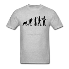 Custom Short Sleeve Boyfriend's Evolution Akustik Gitarre spieler Guitar Shirt Men Boy Geek 3XL Group Tshirts