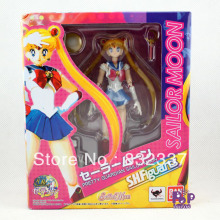 Pop Japanese anime figure PVC Sailor Moon Action Figure Usagi Tsukino toy Best Gifts For Kids